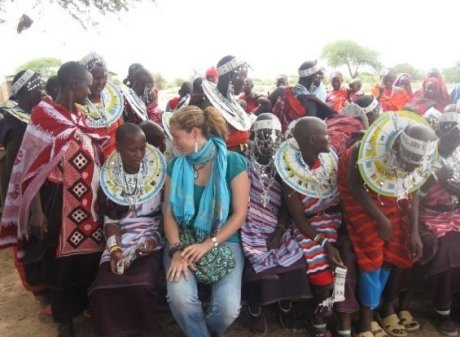 tanzanijske Masajke in Jana-Nyakarungi =)